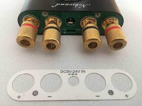 Immagini dell'amplificatore Nobsound NS01G (Douk Audio F900) smontato