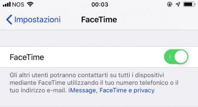Perché non riesco ad effettuare una chiamata o videochiamata di gruppo con Facetime?