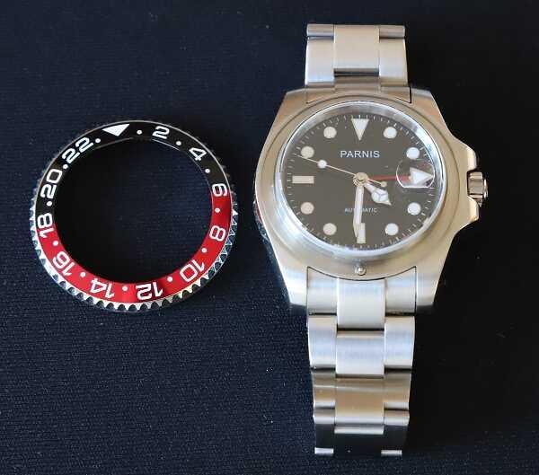 Come smontare la ghiera in un orologio Parnis GMT o Vostok Amphibia per sostituire la lunetta-gmt.jpg