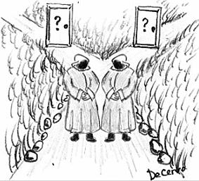 L'indovinello più difficile al mondo - La porta della vita e la porta della morte