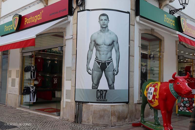 Un negozio CR7 di Cristiano Ronaldo a Vila Real de Santo Antonio (Algarve Portogallo)