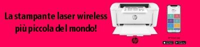 La stampante laser wireless più piccola del mondo, HP M15w